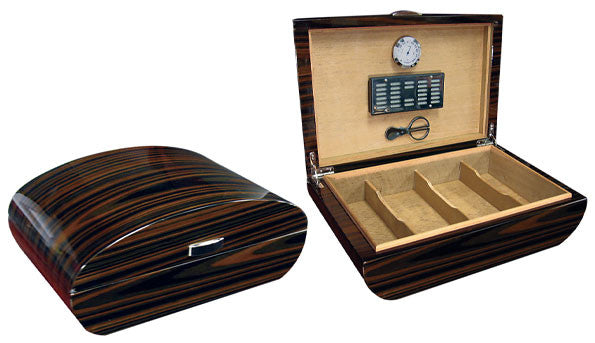 The Waldorf Dome-top ~120-count Desktop Humidor