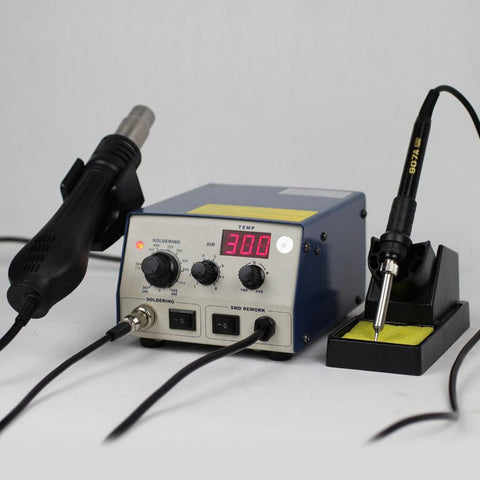 2 in 1 Digital Soldering Station