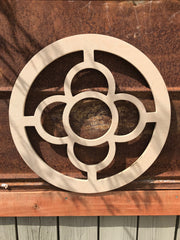 Cathedral Quatrefoil with Circle