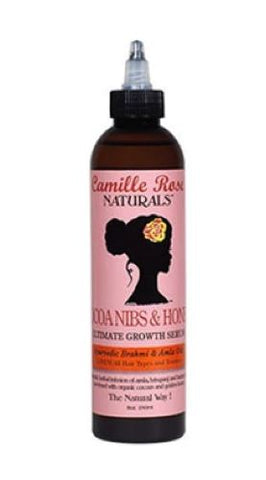 Camille Rose Naturals Cocoa Nibs & Honey Ultimate Growth Serum 8 oz