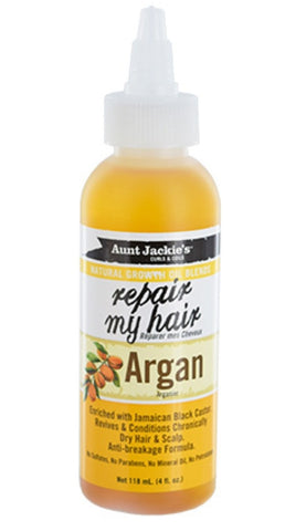 Aunt Jackie's Natural Growth Oil Repair My Hair Argan
