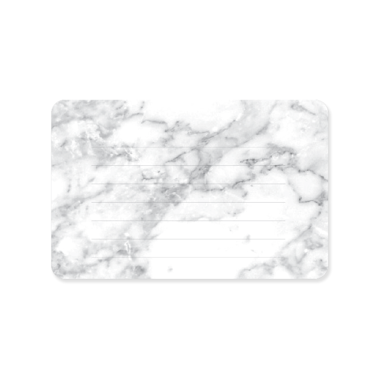 Mini Note Cards Marble Lined Sessa Vee