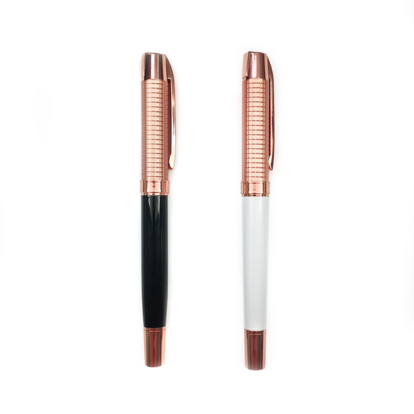 """Ana Rosa"" Rose Gold Rollerball Pen"