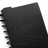 Oversize Cover Sheets - Black - For DIY A5 planner, notebook or organizer