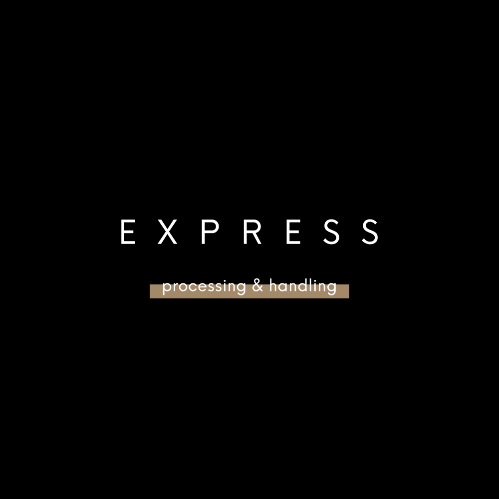 Express Processing - 1-3 Business Days - Read Important Details