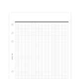 French Lined - A5 Size - Planner Inserts
