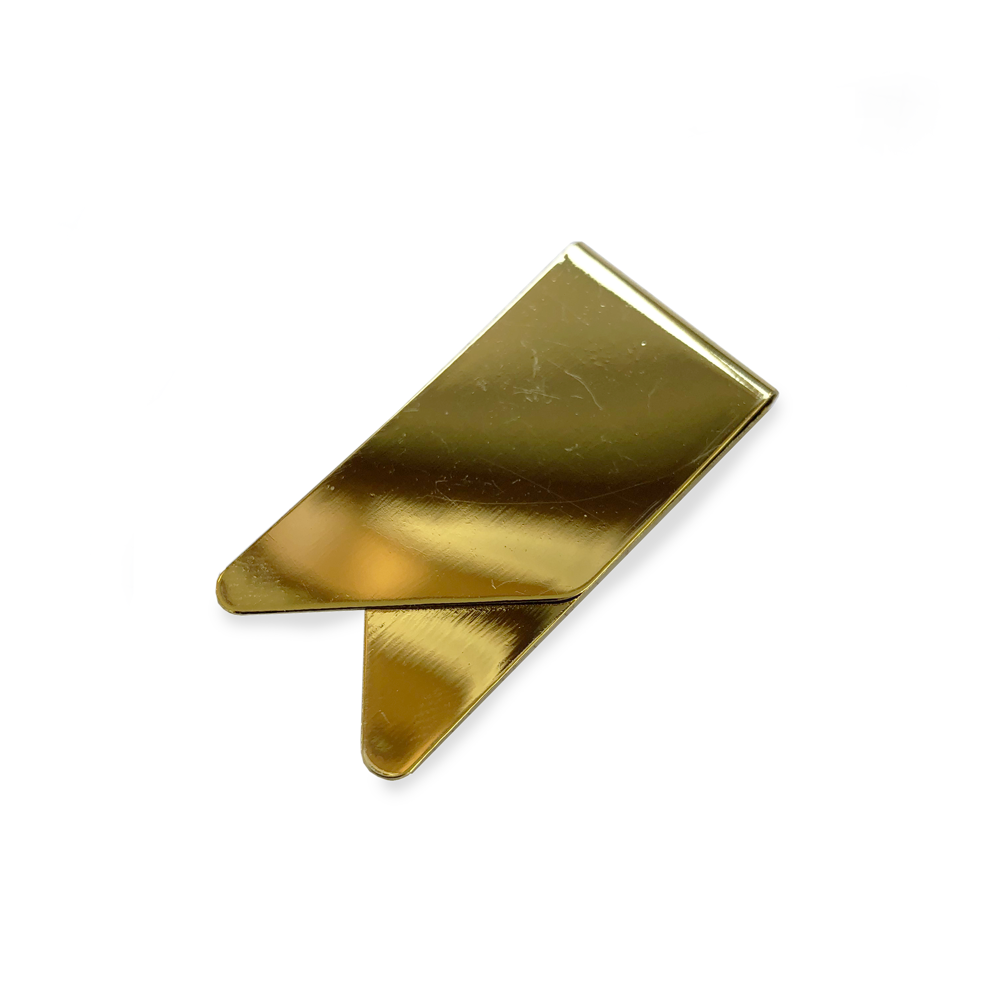 Paper Clip Set - Gold - Money Clip Style Page Marker
