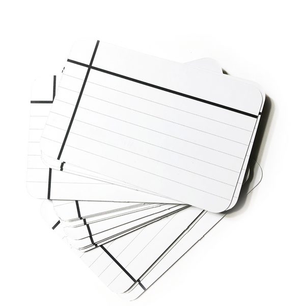Mini Note Cards - Dark Ice - Lined
