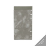 Luxe & Layered™ Pocket Folder for 6 Ring Planners - Velvet, Grey