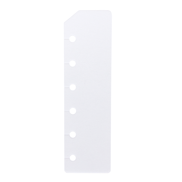 Tab Dividers - Pocket Size - Clear Frosted