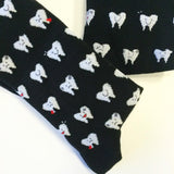 Cute Teeth Dress Socks | Men's Dentist Gift Socks | Fun Dental Socks