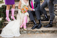 Bride Sparkly Knee Socks