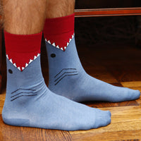 Shark Leg Eater Socks for Kids