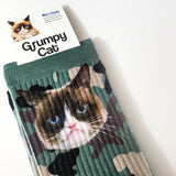 Grumpy Cat Camo Socks for Women