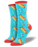 Hot Dogs! Women's Crew Socks