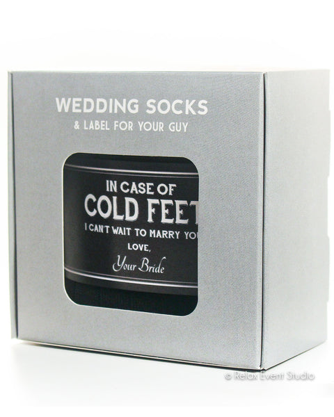 Cold Feet Black Label with Socks ©
