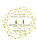 Marriage Milestones - Wine Label Gift