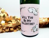 Cute Be My Valentine Wine Lover Gift