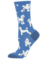 Poodles Women's Crew Socks
