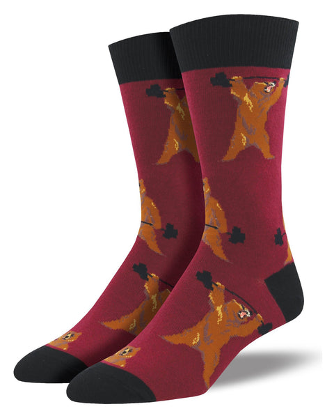 Bearbells men's Crew Socks