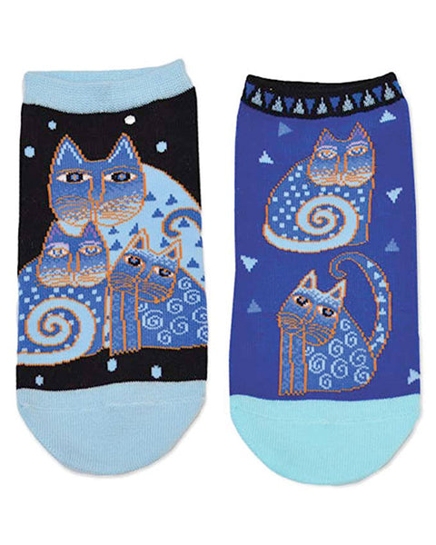 Indigo Cats - Women's 2-Pack by Laurel Burch