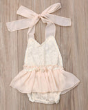 Delicate Lace Romper for Classic Baby Pictures