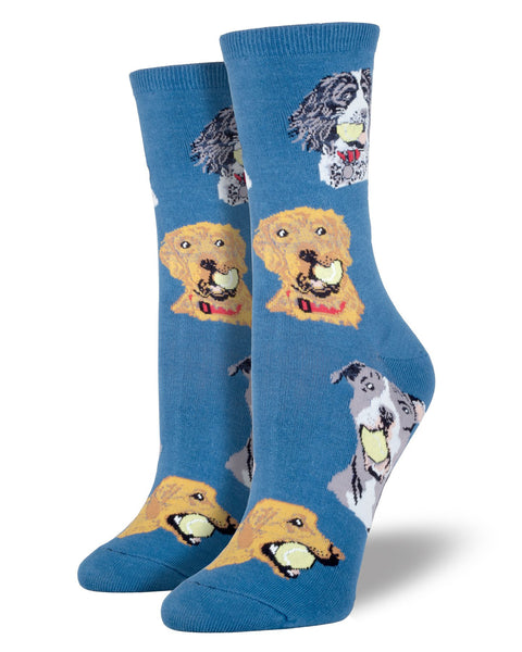 Retriever Dogs Women's Socks