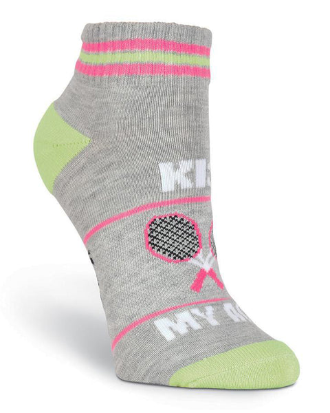 Kiss My Ace - Low Cut Athletic Socks