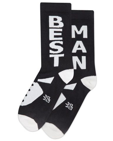 Best Man Crew Socks