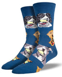 Retriever Dogs Men's Socks