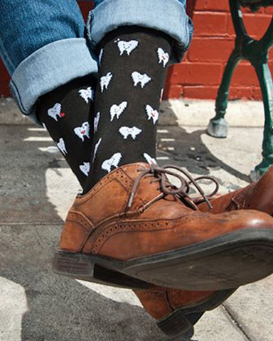 Teeth Crew Socks for Men