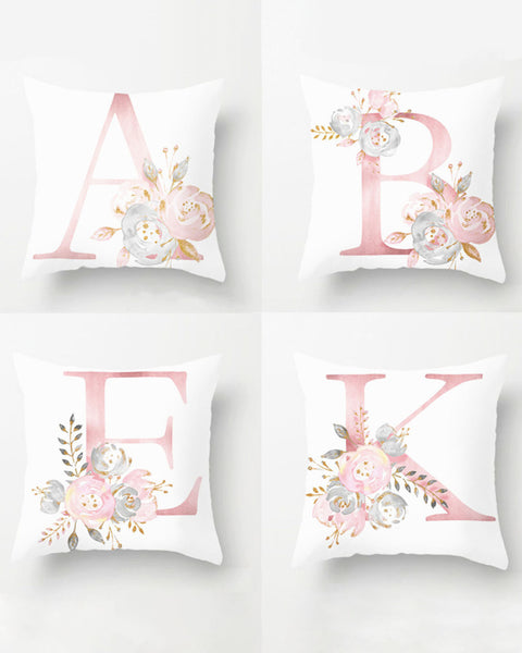 Monogrammed Bridesmaid Gift Pillowcase