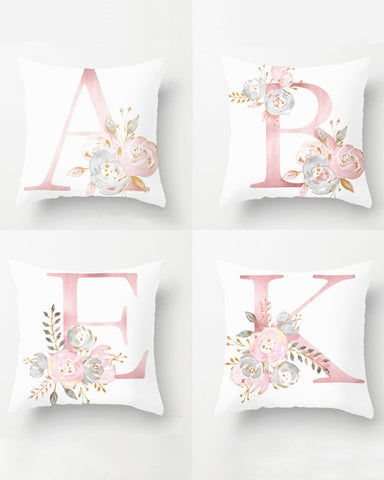 Monogrammed Bridesmaid Gift Pillow
