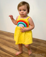 Adorable Rainbow Sundress for Kids
