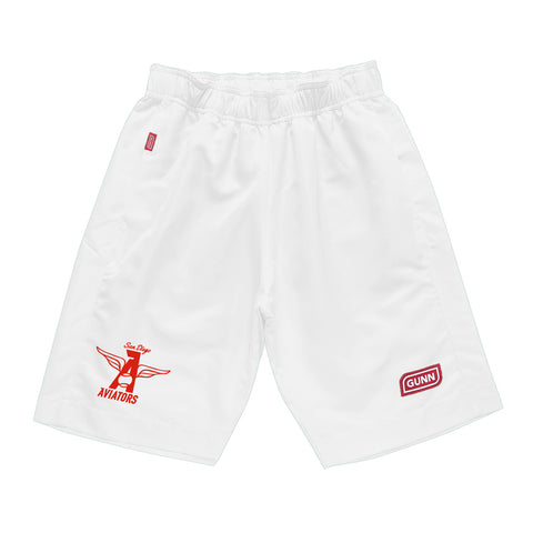 Pro Short Classic San Diego Aviators Edition - White
