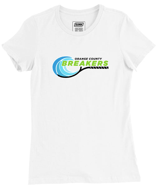 Women's O.C Breakers Logo Pro Tee - White