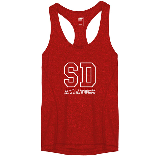 Women's Pro Tank Aviators SD College - Red