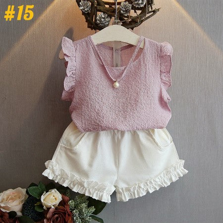Classic Girly Summer Outfit  (2 - 7 Years)