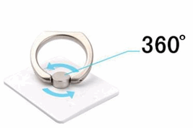 360-Degree Rotation Ring Stand  Holder For Cell Phone