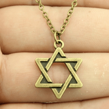 Full Star of David Pendant Necklace
