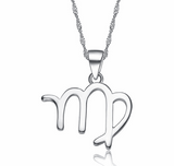Minimal Silver Signs Of Zodiac Necklace - Choose Your Sign