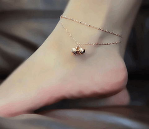 Jingle Bells Chain Anklet