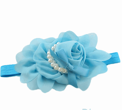 Baby Chiffon Flower Hairband