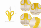 Banana Toothbrush - Silicone Teether / Toothbrush