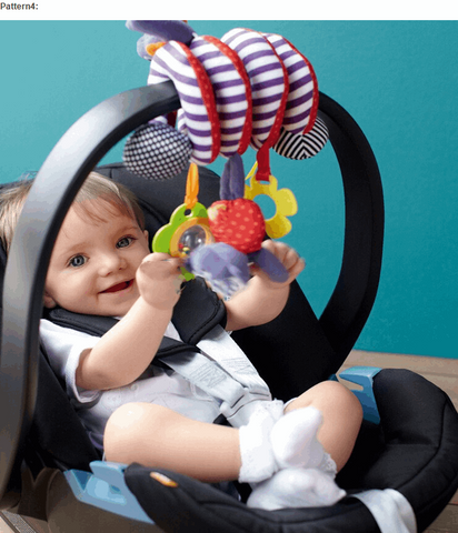Spiral Hanging Babyplay Portable Activity  (10 Patterns)