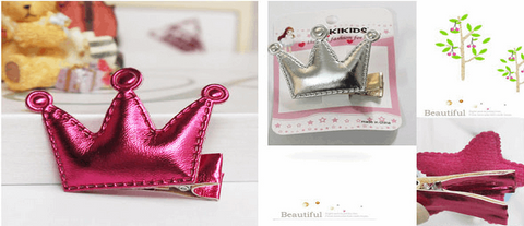 Princess Crown Hair Clips collection