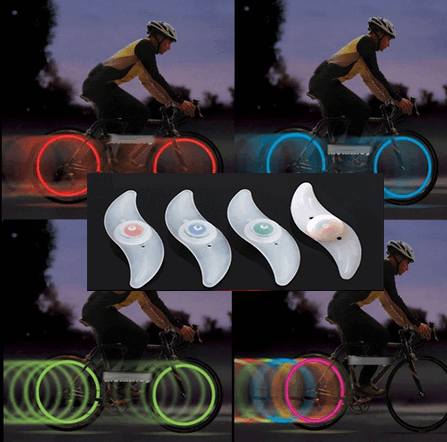 2X Bicycle wheel LED Light