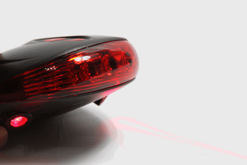 Bicycle Laser Tail Light