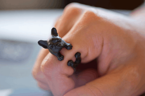 French Bulldog Adjustable Rings