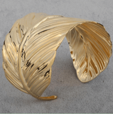 Golden Plated Cuff Bracelet
